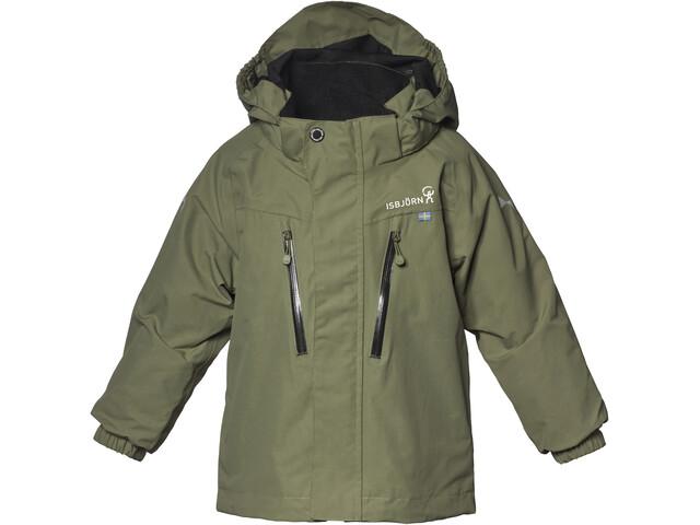 Isbjörn Storm Hard Shell Jacket Kids moss